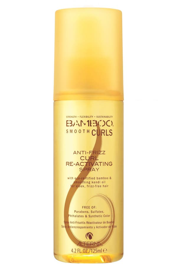 Alternate Image 1 Selected - ALTERNA® 'Bamboo Smooth Curls' Anti-Frizz Curl Re-Activating Spray