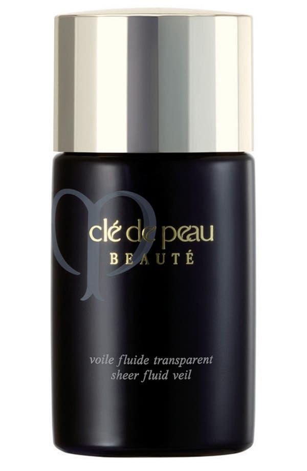 Main Image - Clé de Peau Beauté Sheer Fluid Veil SPF 21