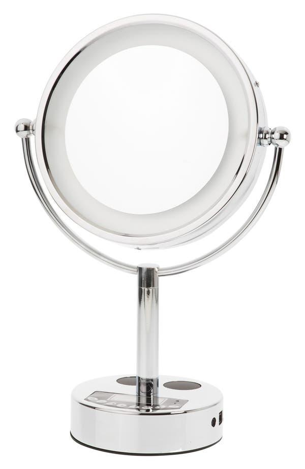 Main Image - Danielle Creations LED Bluetooth® Music & Phone Mirror