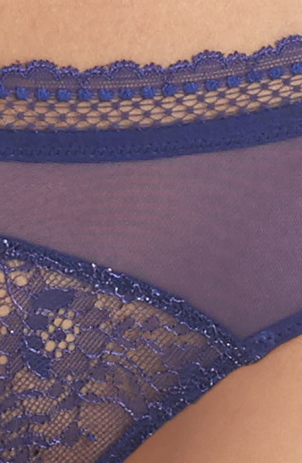 Burlesque Bikini,                             Alternate thumbnail 8, color,                             Royal Blue