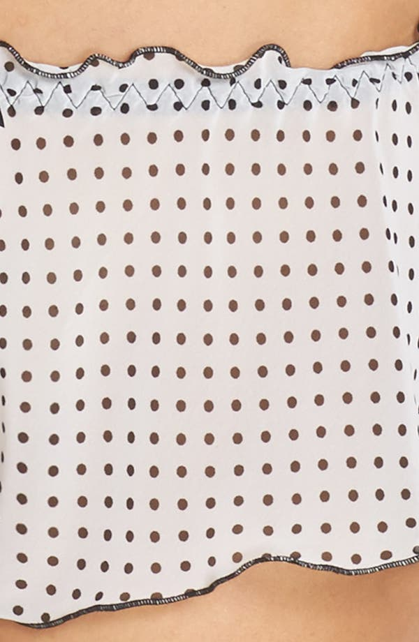 Alternate Image 8  - Hanky Panky Spot On Chiffon Tap Shorts