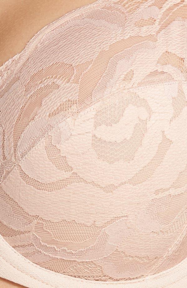 Top Tier Full-Figure Underwire Bra,                             Alternate thumbnail 7, color,                             Rose Dust