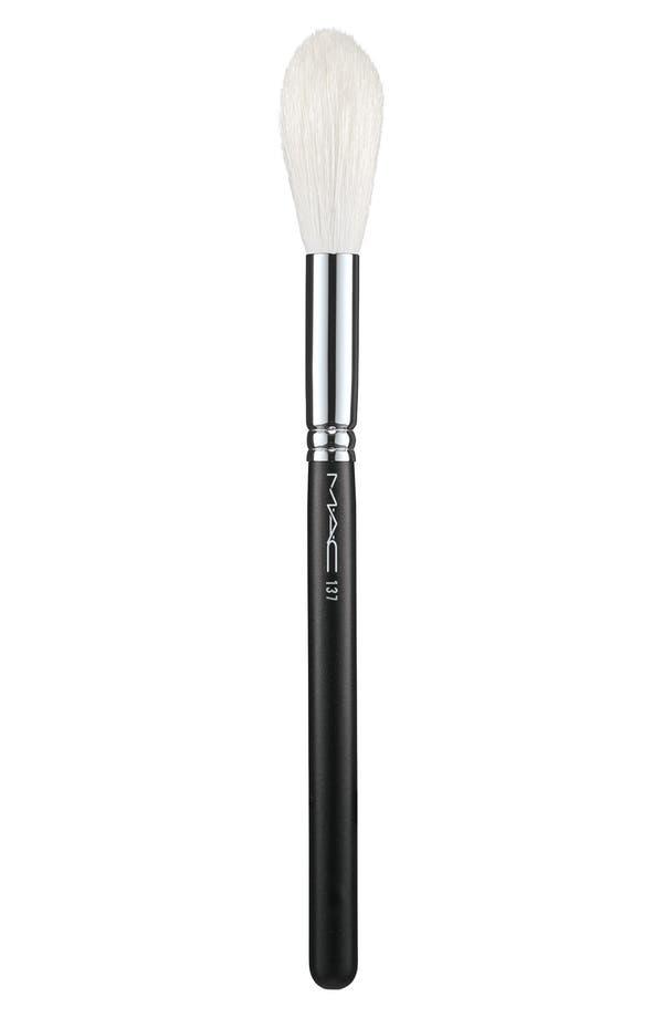 MAC 137 Long Blending Brush,                         Main,                         color, No Color