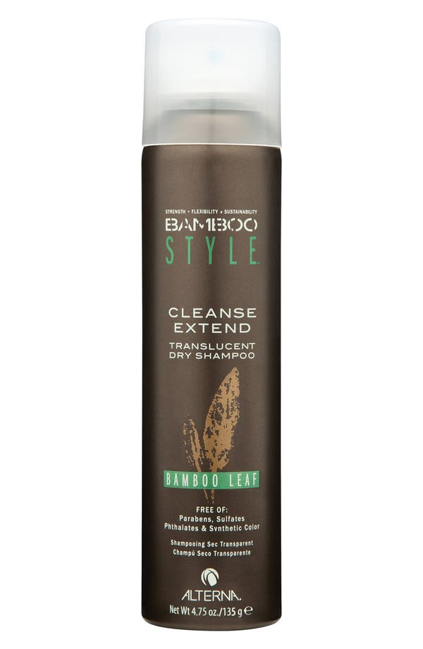 Bamboo Style Cleanse Extend Translucent Dry Shampoo,                         Main,                         color, Bamboo Leaf