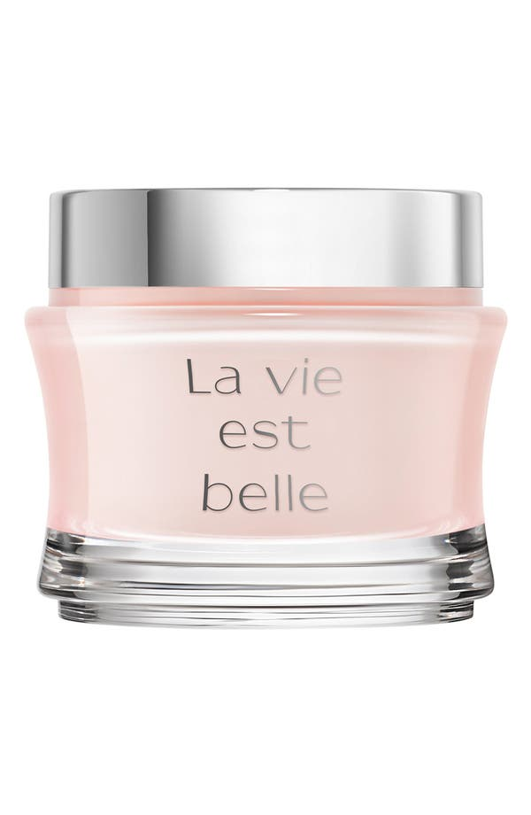La Vie est Belle Body Cream,                             Main thumbnail 1, color,                             No Color