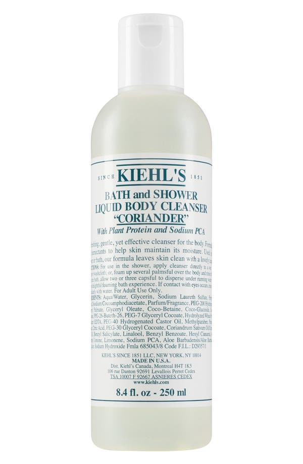 Main Image - Kiehl's Since 1851 Coriander Bath & Shower Liquid Body Cleanser