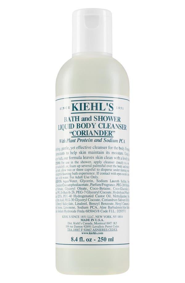 Coriander Bath & Shower Liquid Body Cleanser,                         Main,                         color, Coriander