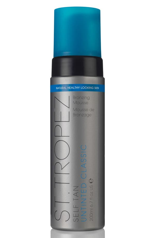'Self Tan' Untinted Classic Bronzing Mousse,                         Main,                         color, No Color