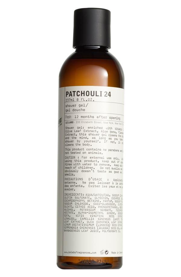 'Patchouli 24' Shower Gel,                             Main thumbnail 1, color,                             No Color