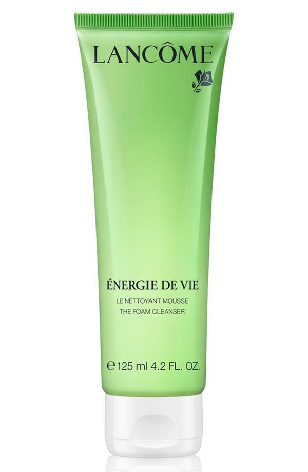 Main Image - Lancôme Énergie de Vie Smoothing & Purifying Foam Cleanser