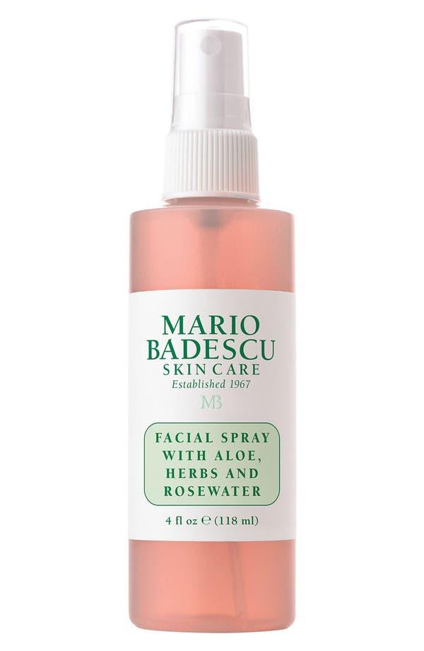 Facial Spray with Aloe, Herbs & Rosewater,                         Main,                         color, No Color