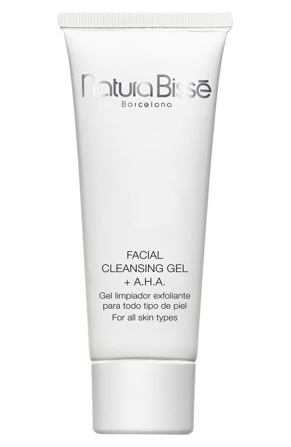 Natura Bissé Facial Cleansing Gel + A.H.A.,                         Main,                         color, No Color