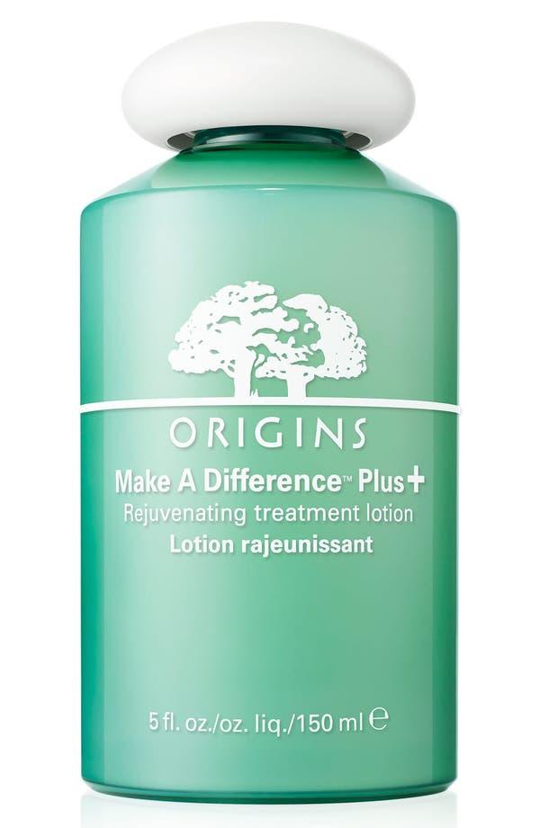 Alternate Image 1 Selected - Origins Make A Difference Plus+ Rejuvenating Treatment Lotion