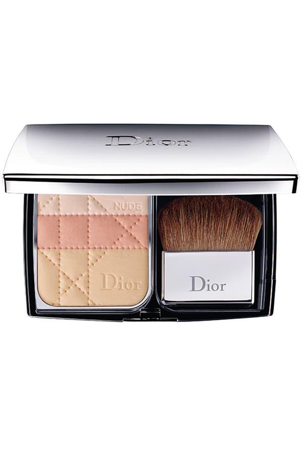 Alternate Image 1 Selected - Dior 'Diorskin Nude' Natural Glow Sculpting Powder Makeup SPF 10
