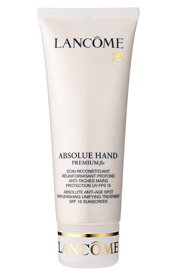 Alternate Image 1 Selected - Lancôme Absolue Premium Bx Hand SPF 15 Sunscreen