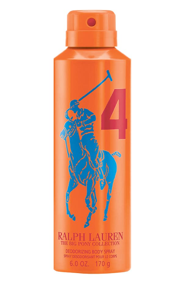 Main Image - Ralph Lauren 'Big Pony #4 - Orange' Allover Body Spray