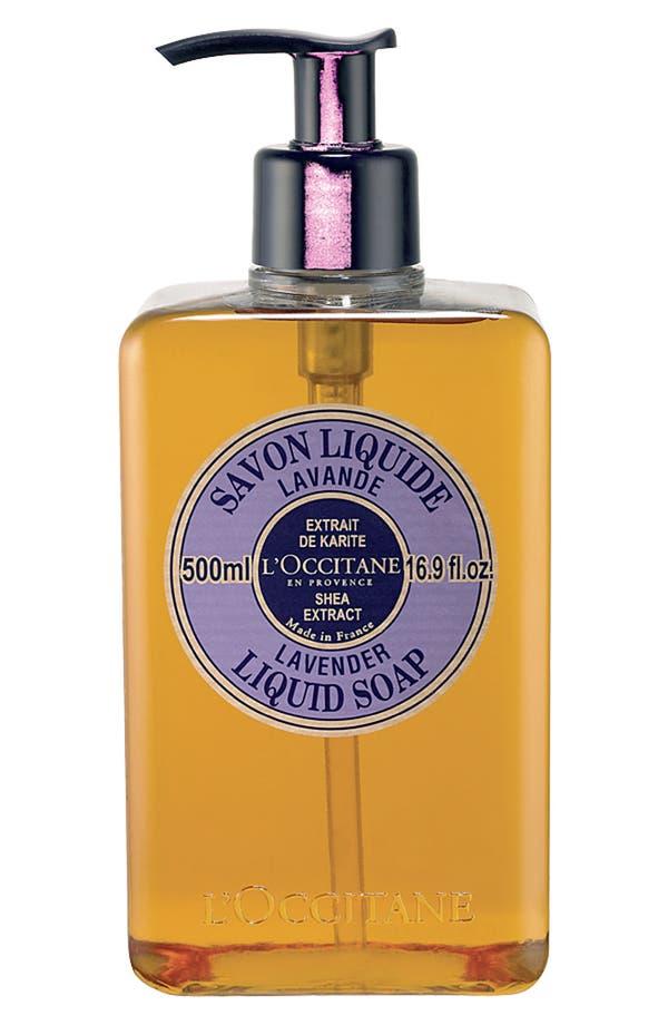 'Lavender' Shea Liquid Soap,                             Main thumbnail 1, color,