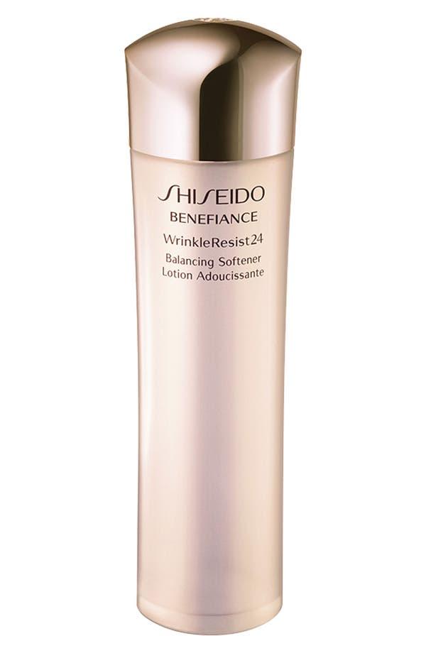 Alternate Image 1 Selected - Shiseido 'Benefiance WrinkleResist24' Balancing Softener