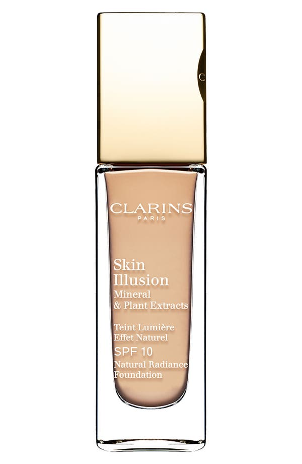 Alternate Image 1 Selected - Clarins 'Skin Illusion' Natural Radiance Foundation SPF 10