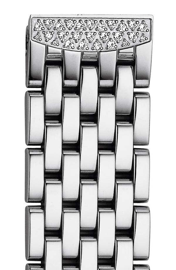 'Urban Mini Diamond' 16mm Bracelet Watchband,                         Main,                         color, Silver / Diamond