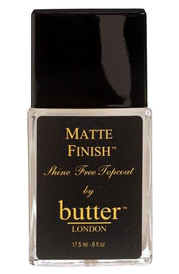 Alternate Image 1 Selected - butter LONDON 'Matte Finish™' Shine Free Topcoat