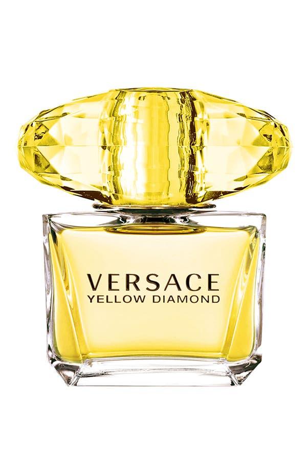 Alternate Image 1 Selected - Versace 'Yellow Diamond' Eau de Toilette