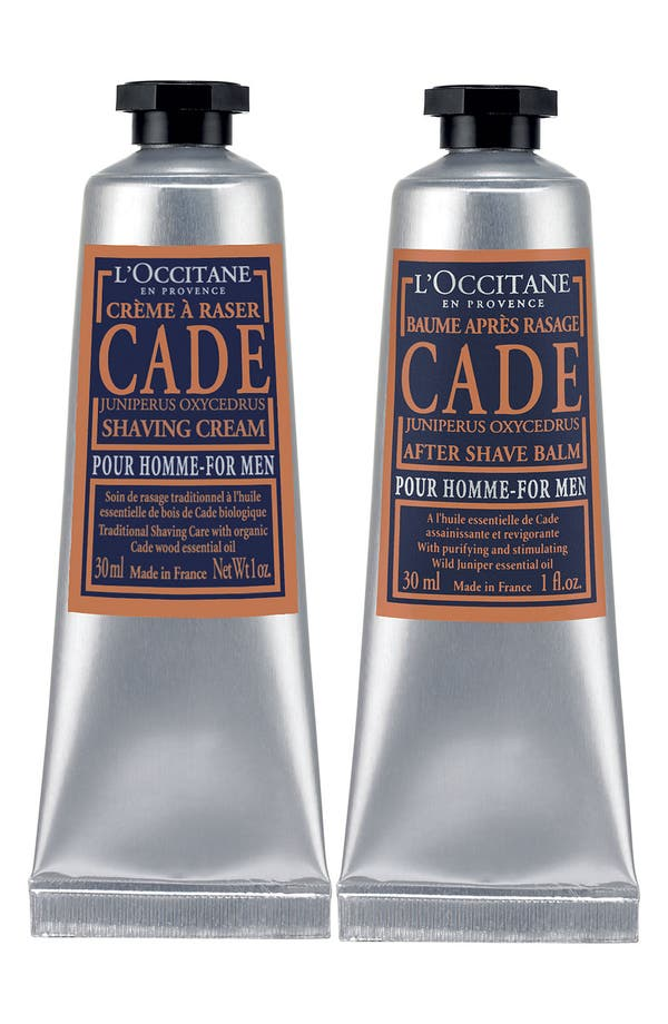 Main Image - L'Occitane 'A Man's Ritual - Cade' Shaving Duo ($24 Value)