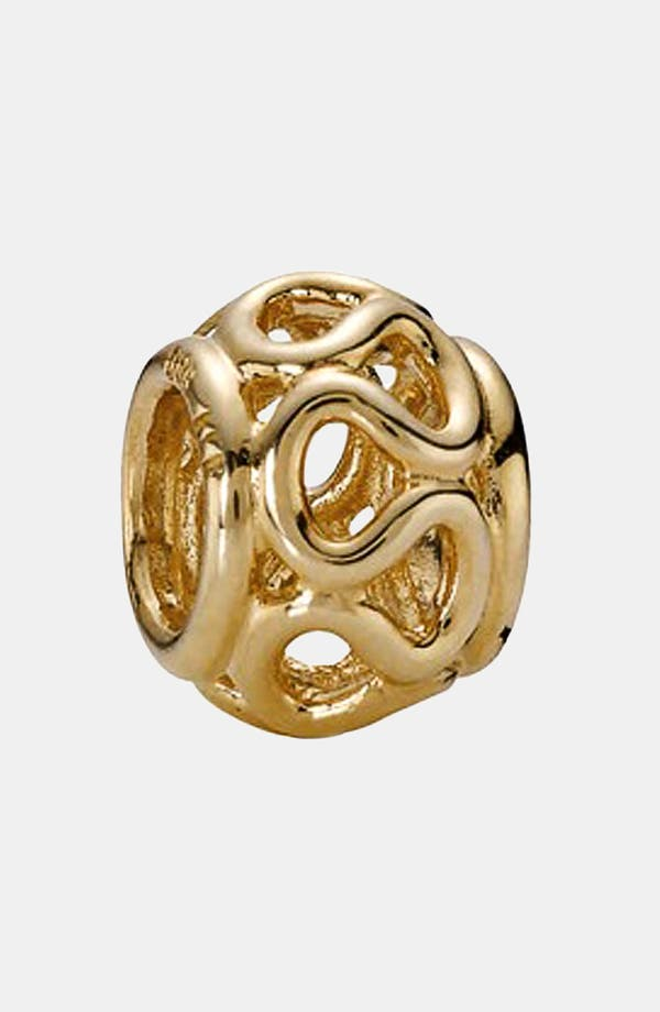 Main Image - PANDORA Intertwined Gold Charm