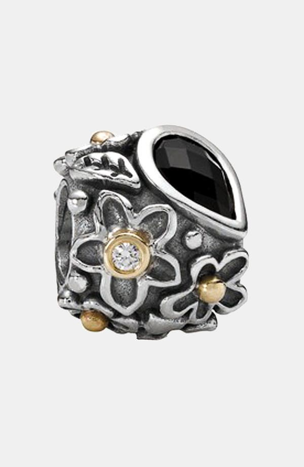 Alternate Image 1 Selected - PANDORA 'Dewdrops on Flowers' Charm