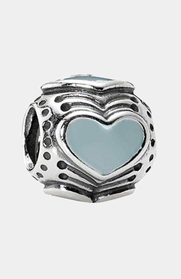 Main Image - PANDORA Enamel Heart Charm