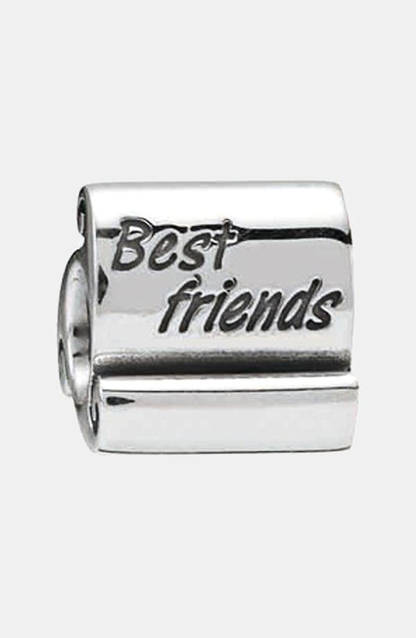 Alternate Image 1 Selected - PANDORA 'Best Friends' Scroll Charm