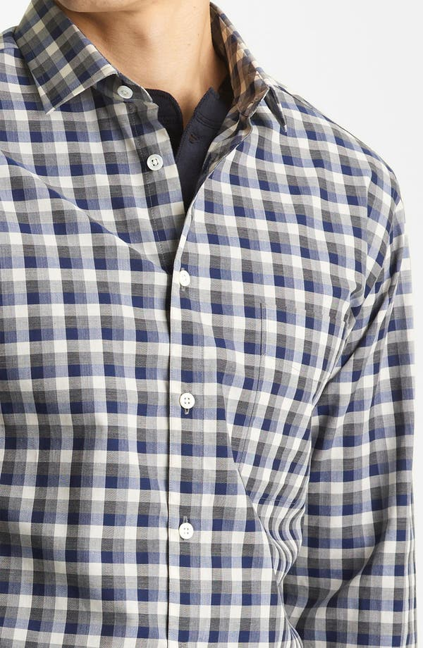 Alternate Image 3  - Billy Reid 'John T' Check Woven Shirt