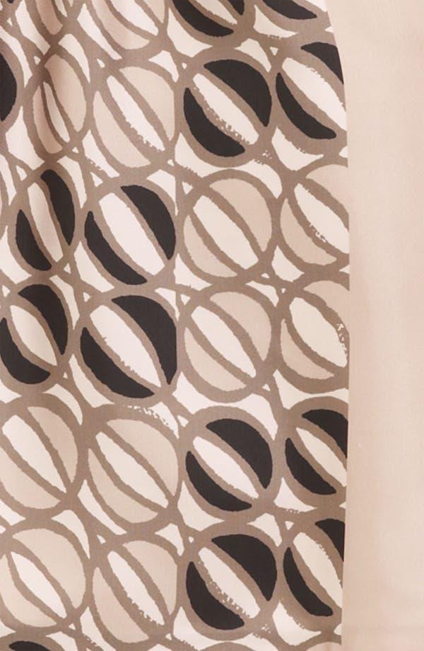 Alternate Image 3  - Piazza Sempione Print Silk Dress