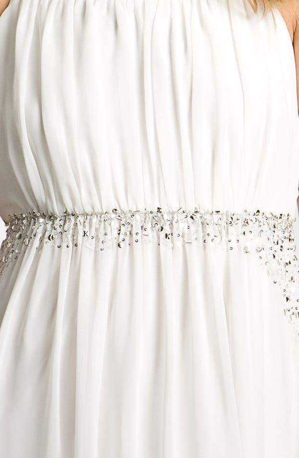 Alternate Image 3  - Calvin Klein Embellished Chiffon Dress