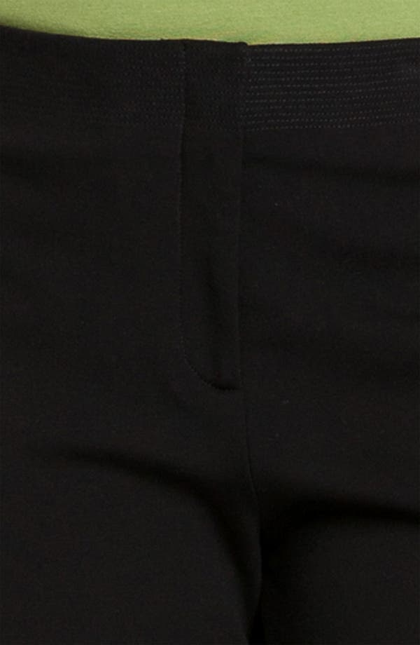 Alternate Image 3  - Eileen Fisher Stitched Waist Slim Ankle Pants (Plus)