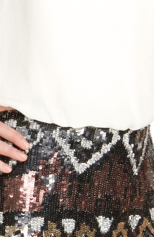 Alternate Image 3  - Parker Sequin Silk Dress