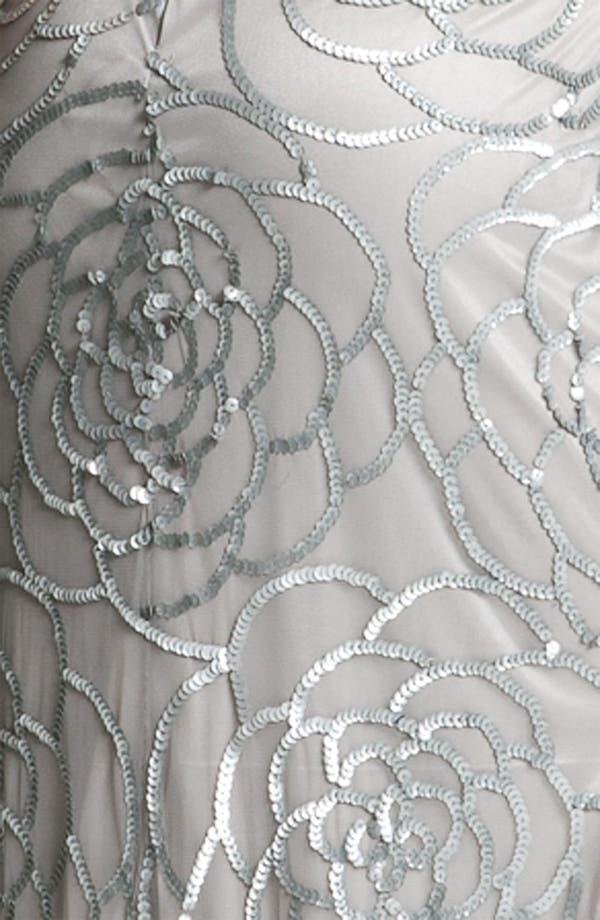 Alternate Image 3  - Aidan Mattox Sequin Mesh Gown