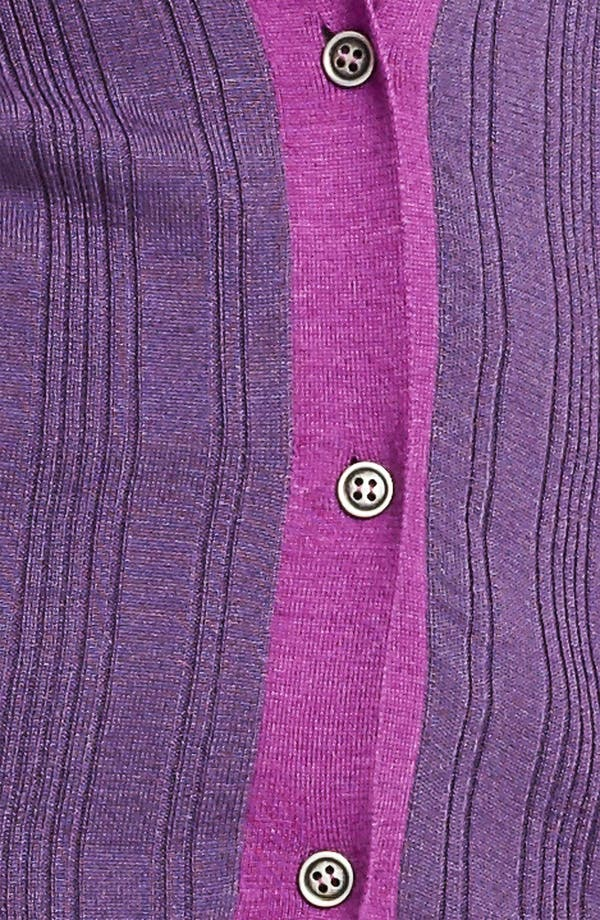 Alternate Image 3  - Lida Baday Contrast Trim Cardigan