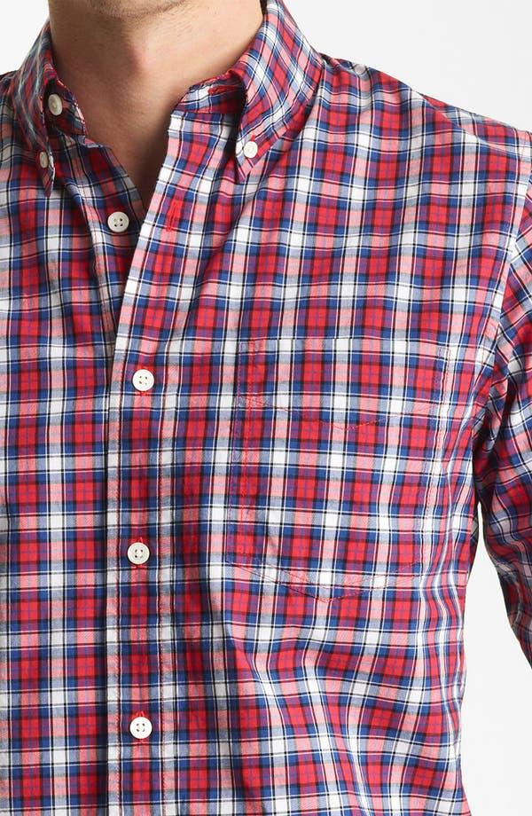 Alternate Image 3  - Jack Spade 'Philips' Plaid Woven Shirt