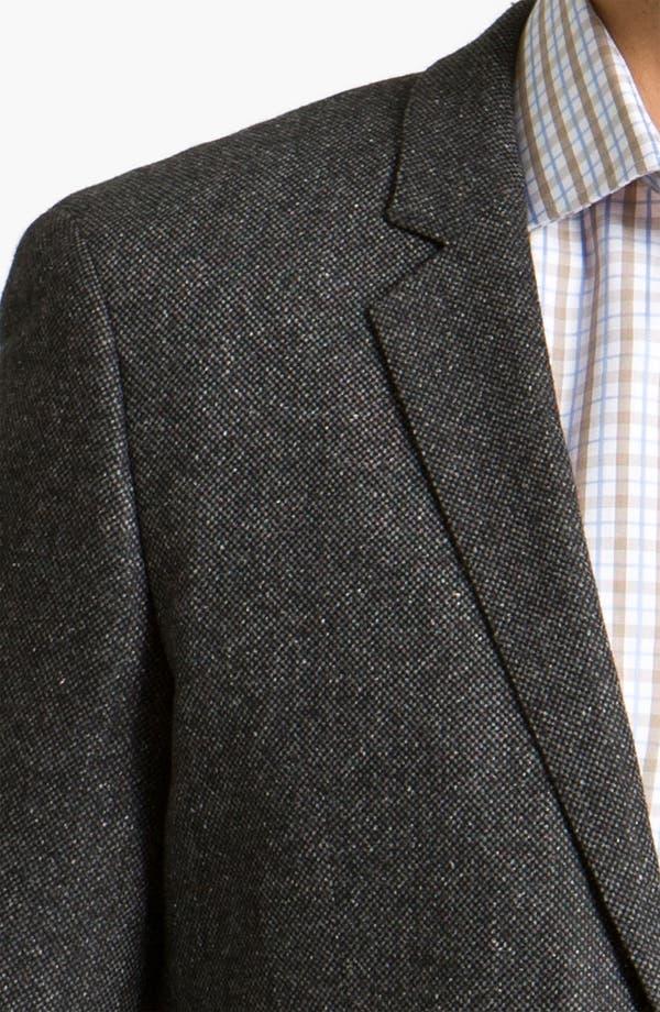 Alternate Image 3  - BOSS Black 'Rhett' Extra Trim Fit Tweed Sportcoat