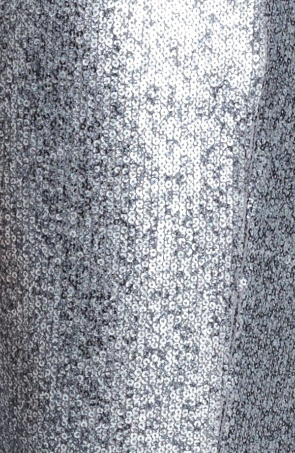 Alternate Image 3  - Donna Karan Collection Sequin Jersey Leggings