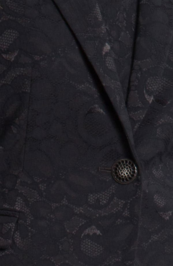Alternate Image 3  - Louben Lace Blazer