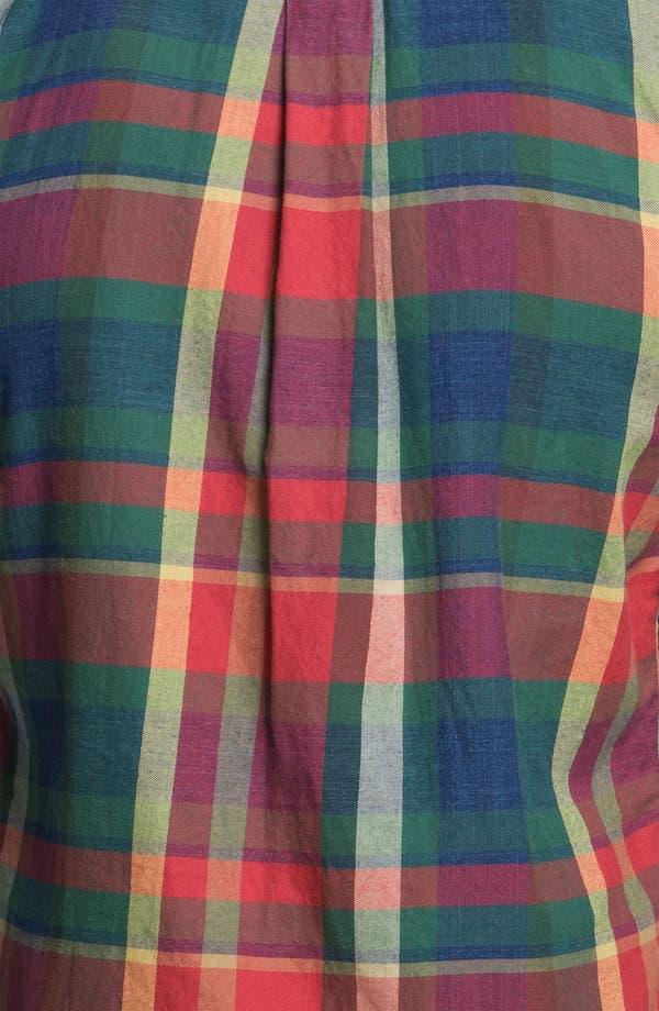 Alternate Image 3  - Gant Rugger 'Indigo' Plaid Woven Shirt