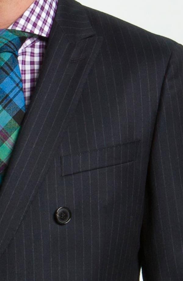 Alternate Image 6  - BOSS Black 'Rusty/Win' Stripe Suit