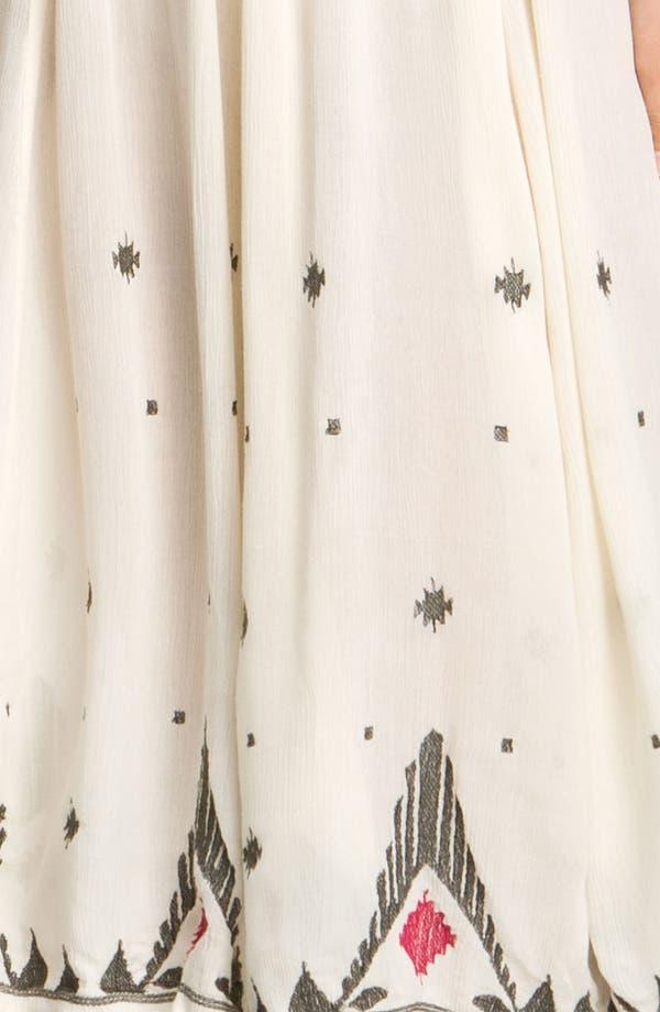 Alternate Image 3  - Free People 'Splendor' Embroidered Peasant Dress