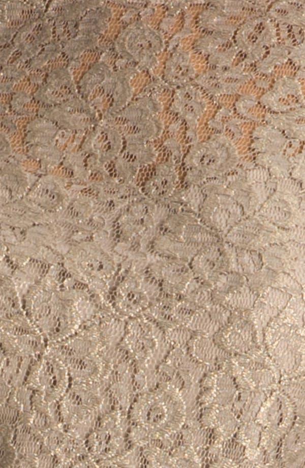 Alternate Image 3  - Donna Morgan Elbow Sleeve Lace Shift Dress