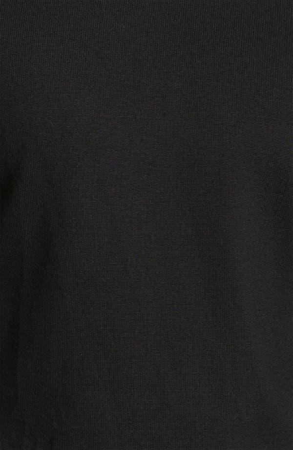 Alternate Image 3  - BOSS Black Slim Fit Wool Turtleneck