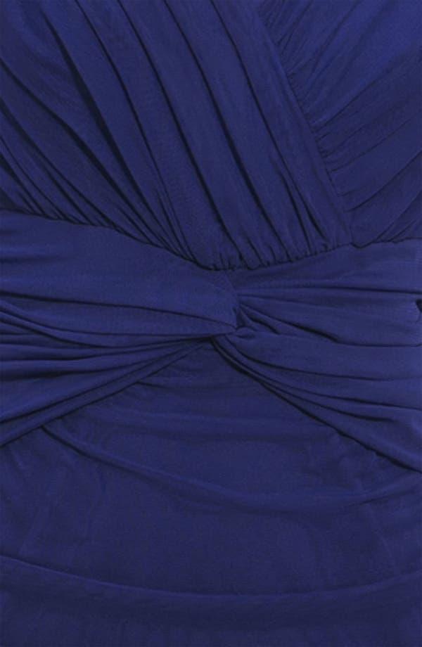 Alternate Image 3  - Tadashi Shoji Ruched V-Neck Dress