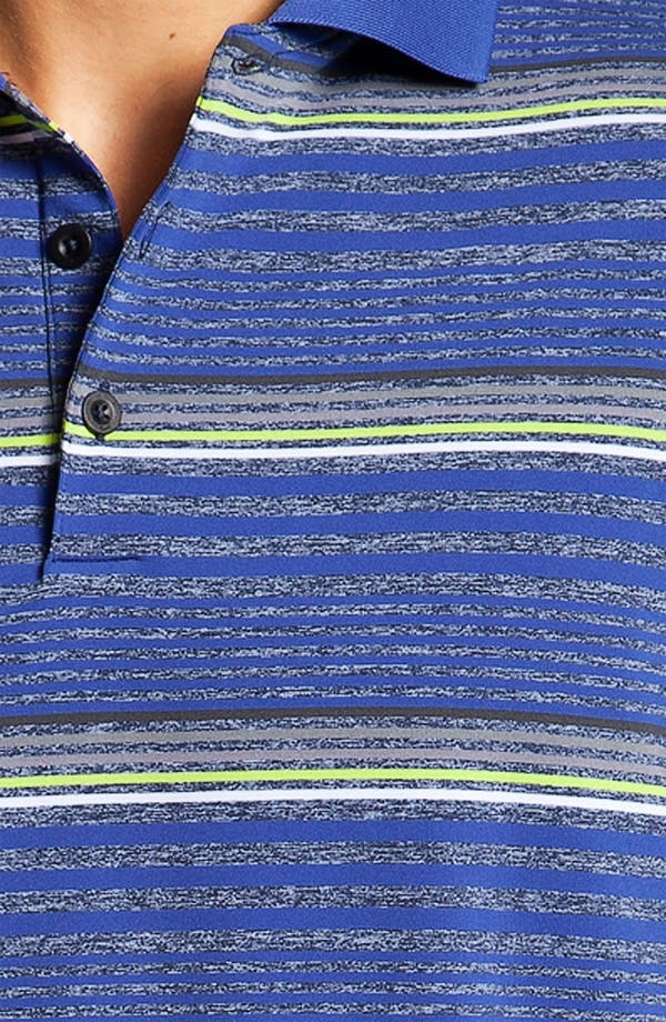 Alternate Image 3  - Nike Golf 'Fashion Stripe' Dri-FIT Polo