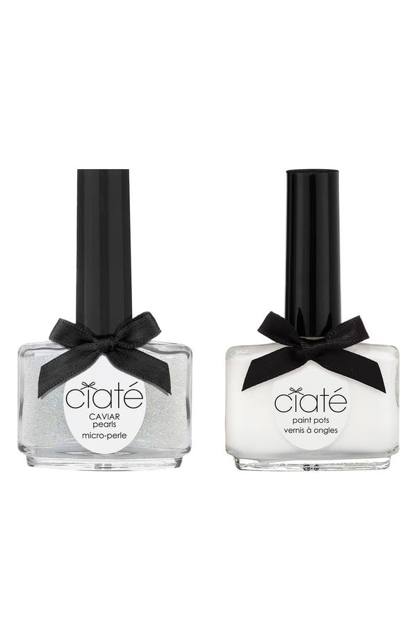Alternate Image 1 Selected - Ciaté 'Caviar Manicure™ - Mother of Pearl' Set